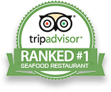 Ranked number 1 seafood restaurant